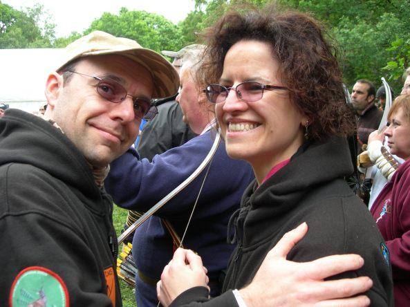 Me (Rob) and better half (Sharon)