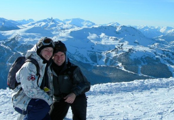 Sharon and Rob in Whistler
