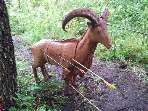3D goat at LEFA