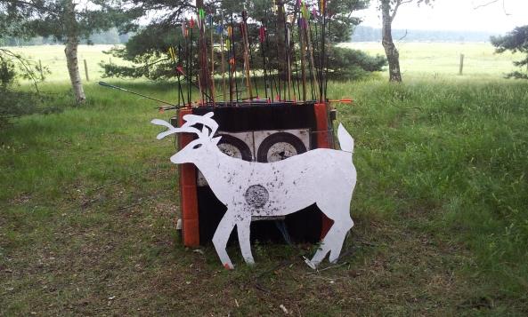 Robo Deer up close