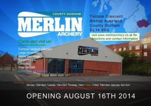 Merlin Archery new store