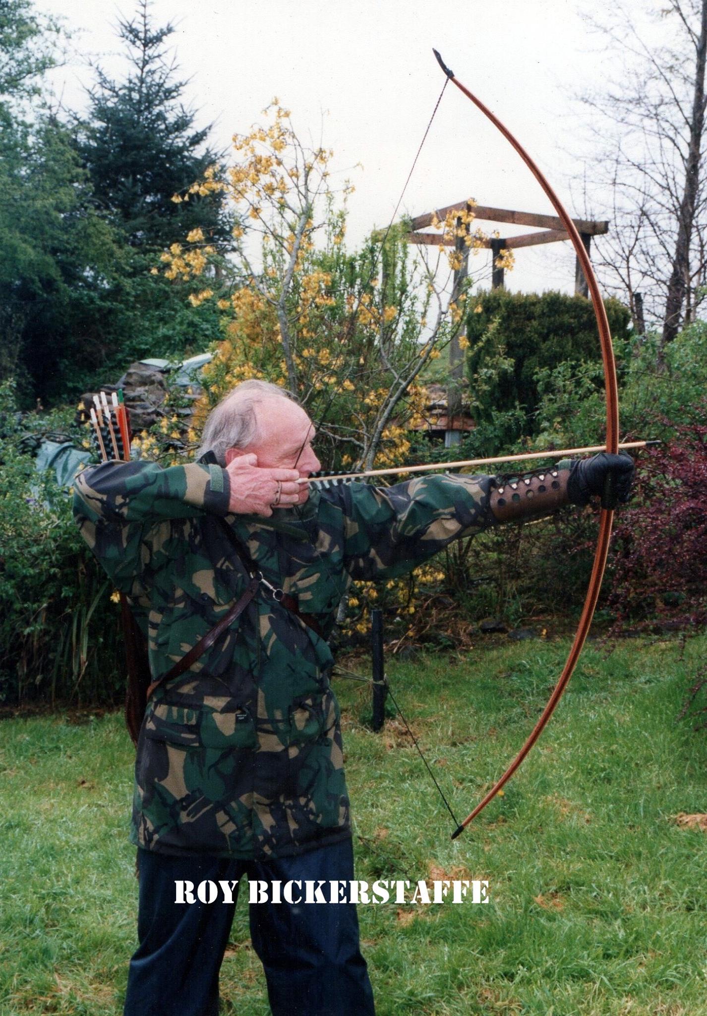 Some Sad News Passing Of Roy Bickerstaffe My Archery Experiences