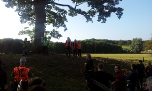 B course - Archers mustering