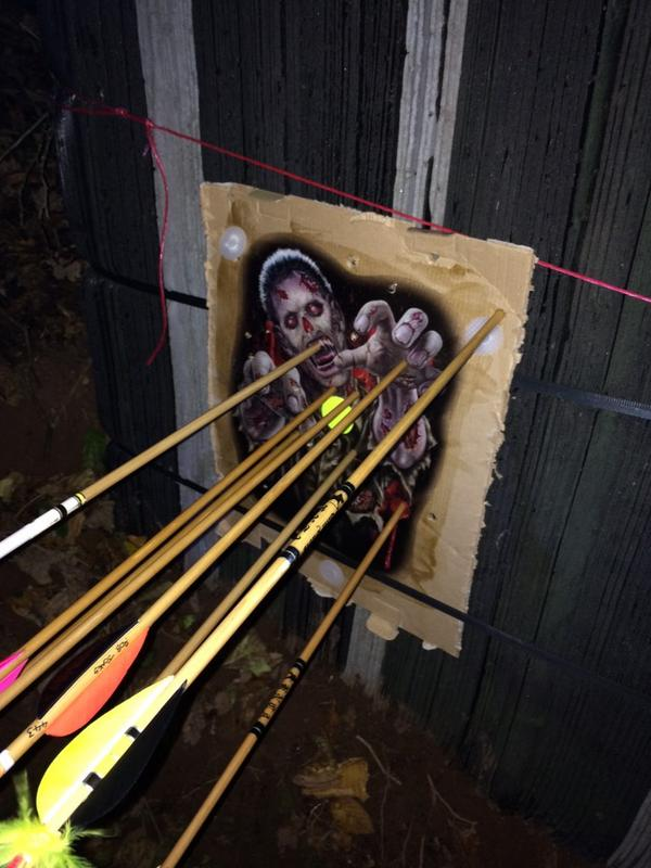 Shoot report - spooky night down at the wood (5/6)