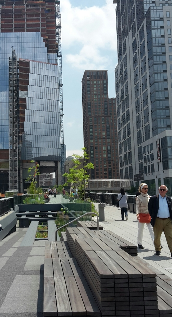 New York Highline walk