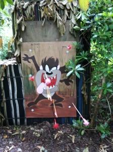 Cartoon target