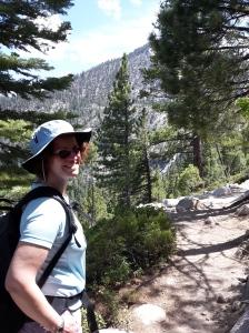 Hiking near Lake Tahoe