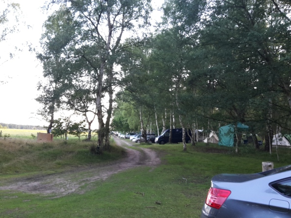 Liberty Archers campsite