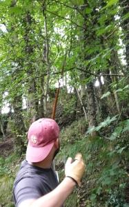 Uphill shot
