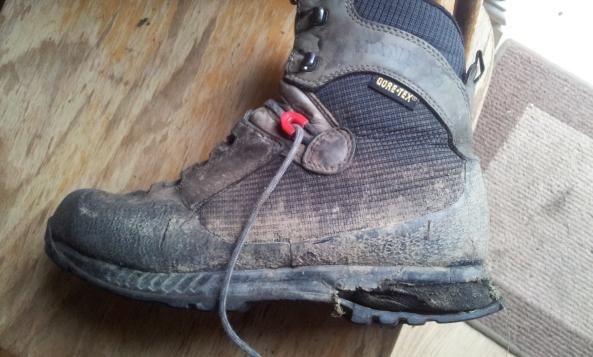 Old walking boot