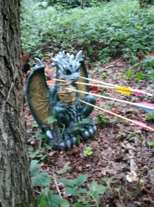 Lucky shoot - 3D dragon
