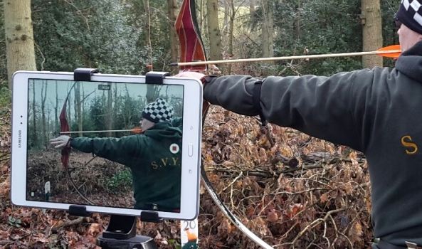Use of technology to help archers