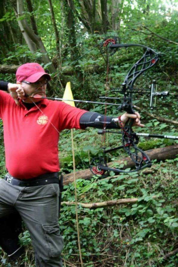 Andy and the now stolen bow