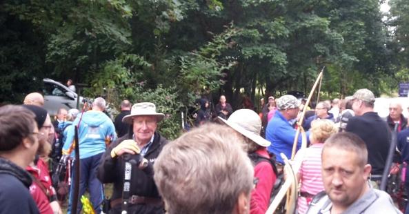 Centaura shoot - archers waiting for start