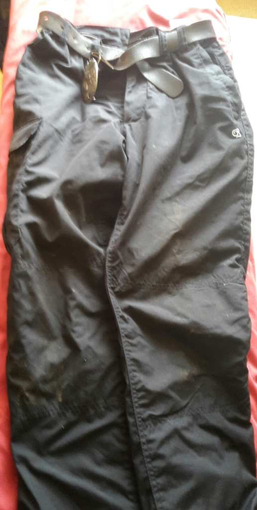 Lined walking trousers