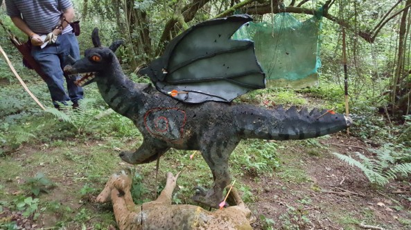 Hawks black dragon 3D