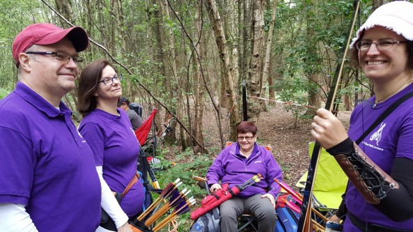 Briar Rose Field Archers at Forest of Arden