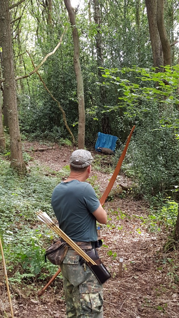 Neil Shooting 3D target
