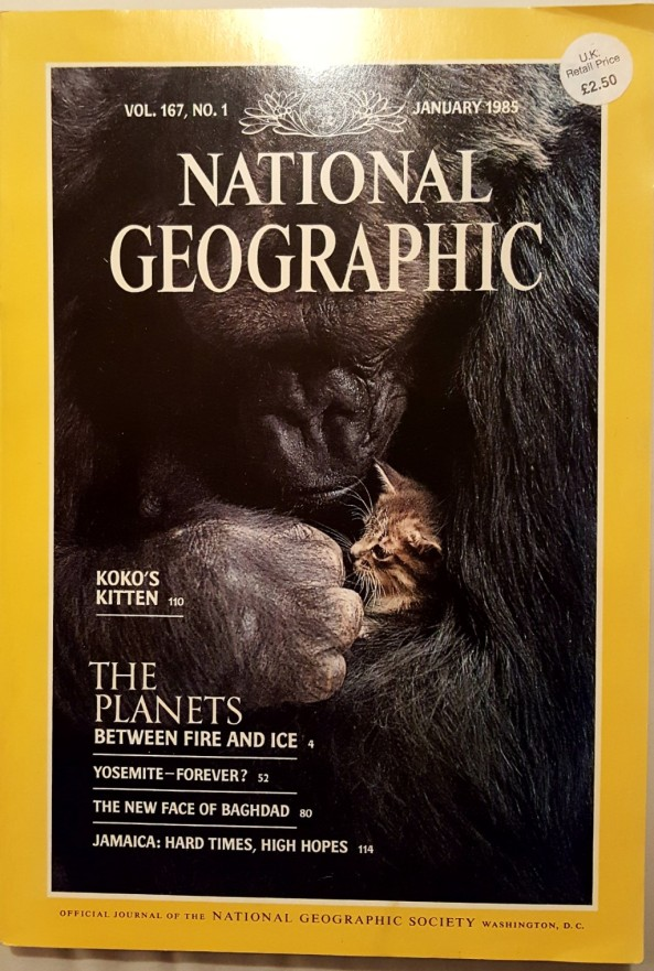 National Geographic January 1985
