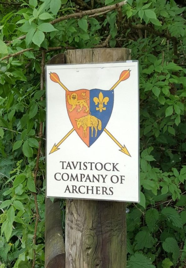 A course was set by Tavistock Company of Archers
