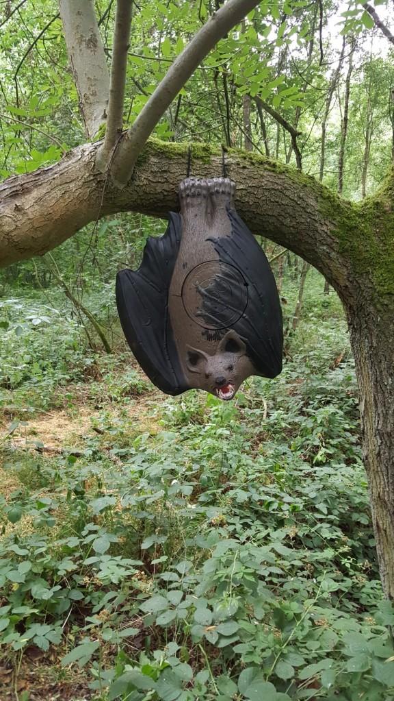 3D bat target