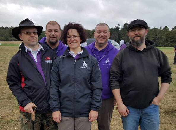 Briar Rose members - Left to right (Rob,Tony,Sharon,Steve and Lee)