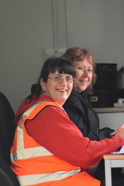 Behind the scenes admin team