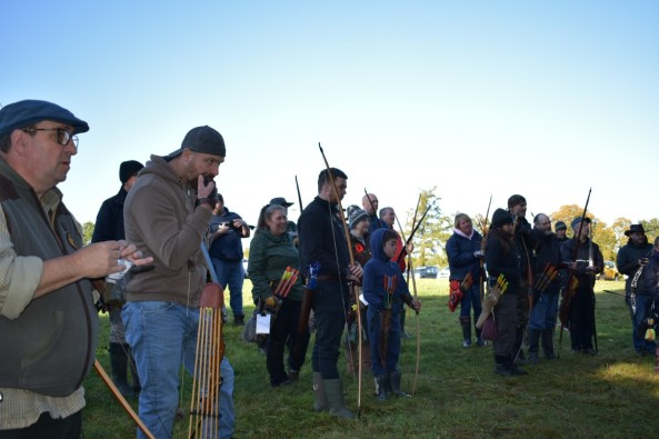 Archers gathering