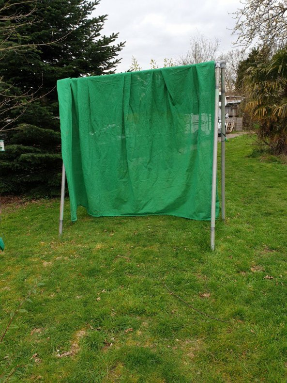 Archery Backstop Net - different angle